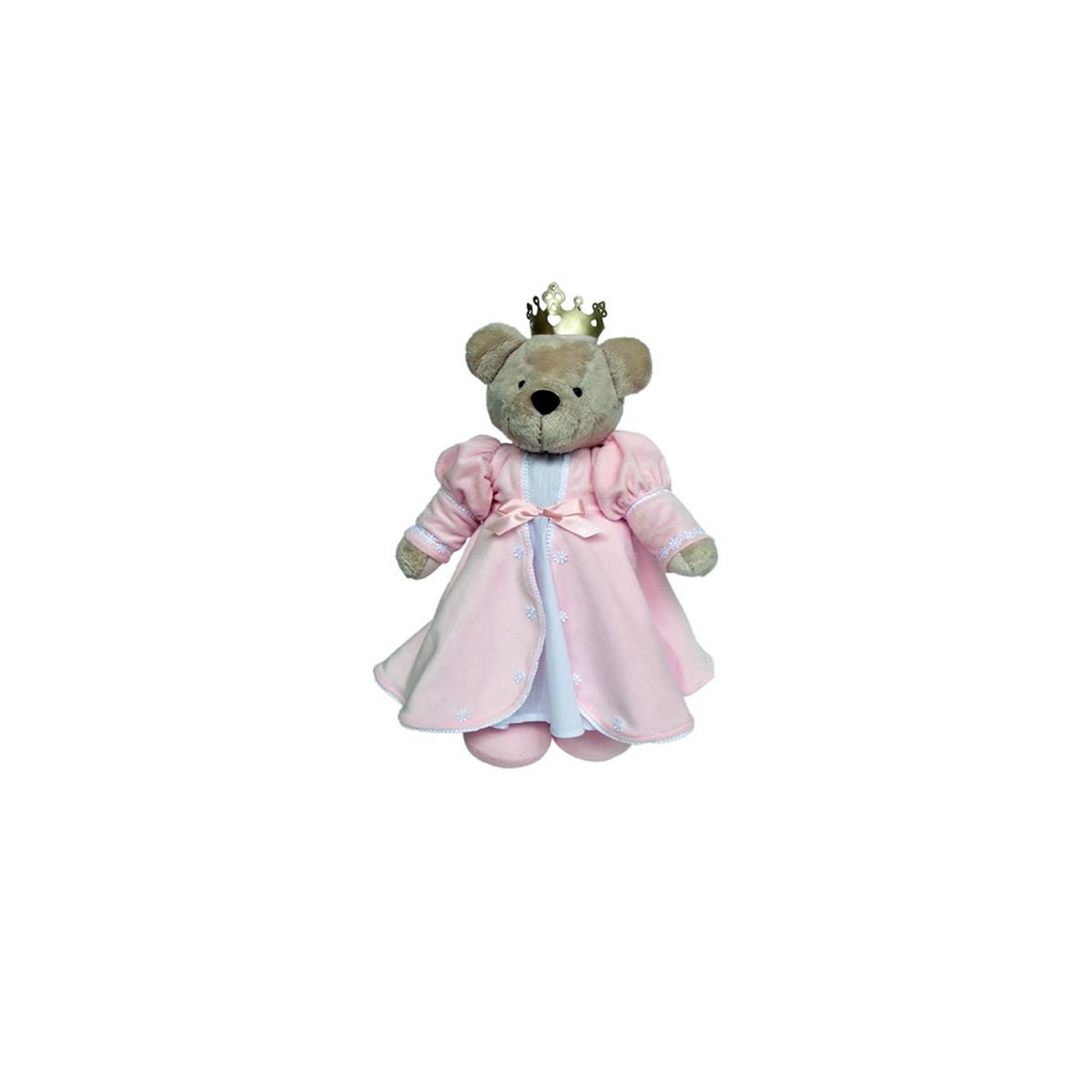 Ursa Princesa 1 Rosa Bebê