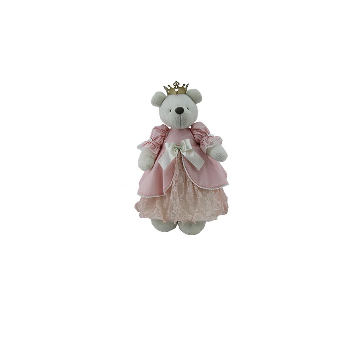 Ursa Princesa 2 Rosa Chá