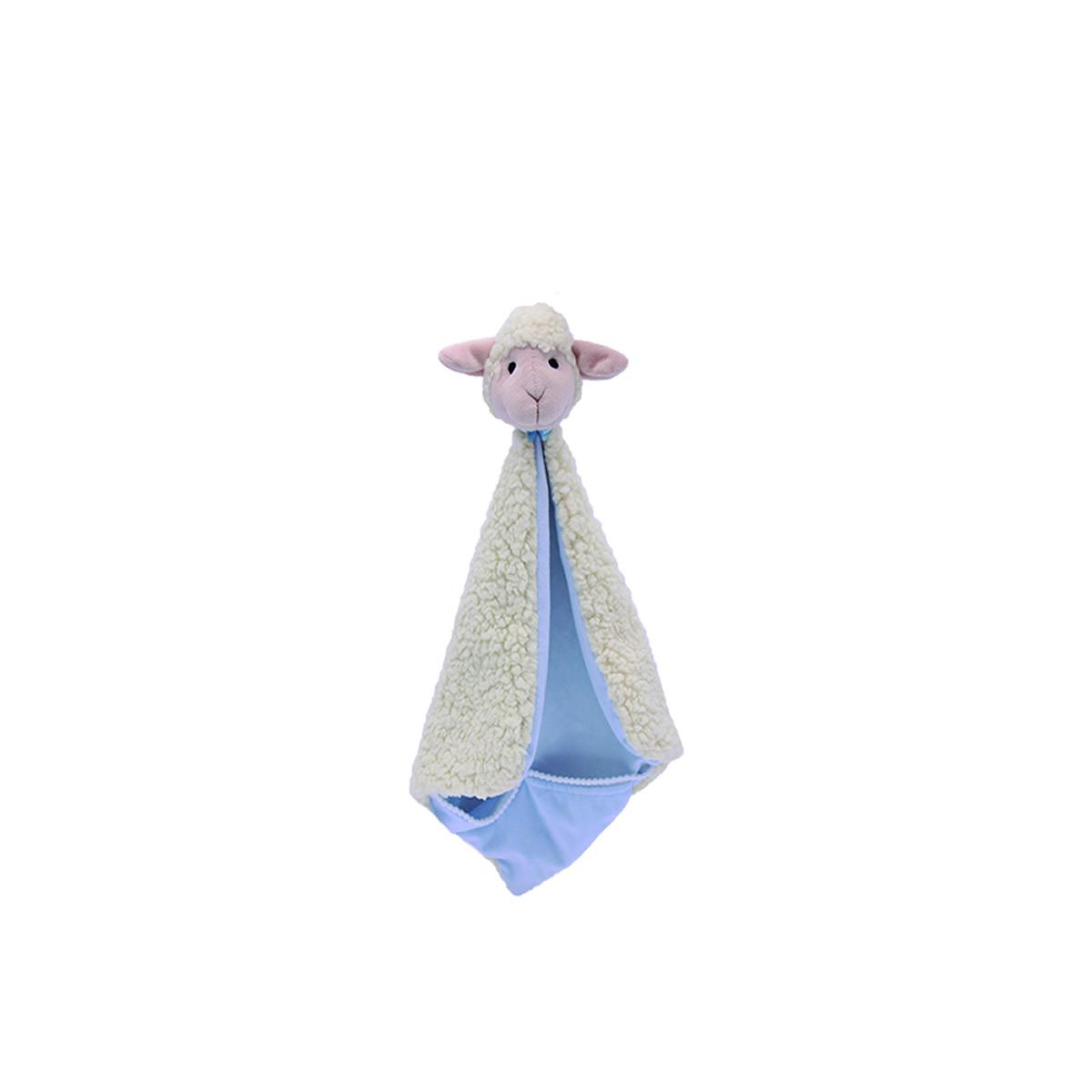 Naninha Com Bolso Ovelha Azul