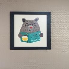 quadro urso dummie