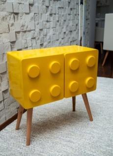 Lego horizontal amarelo