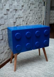 Lego horizontal azul