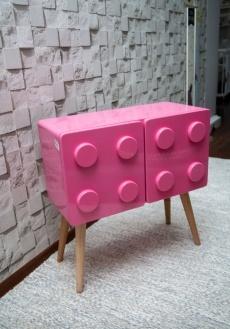 Lego horizontal rosa