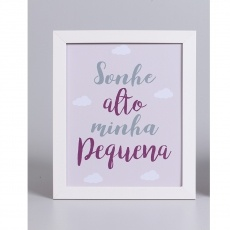 SONHE ALTO MINHA PEQUENA